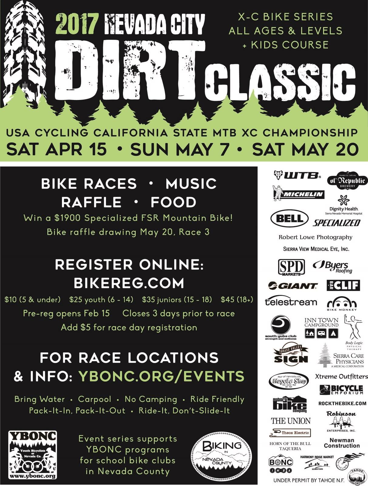 Nevada City Dirt Classic