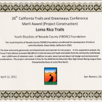 The Greenways Merit Award