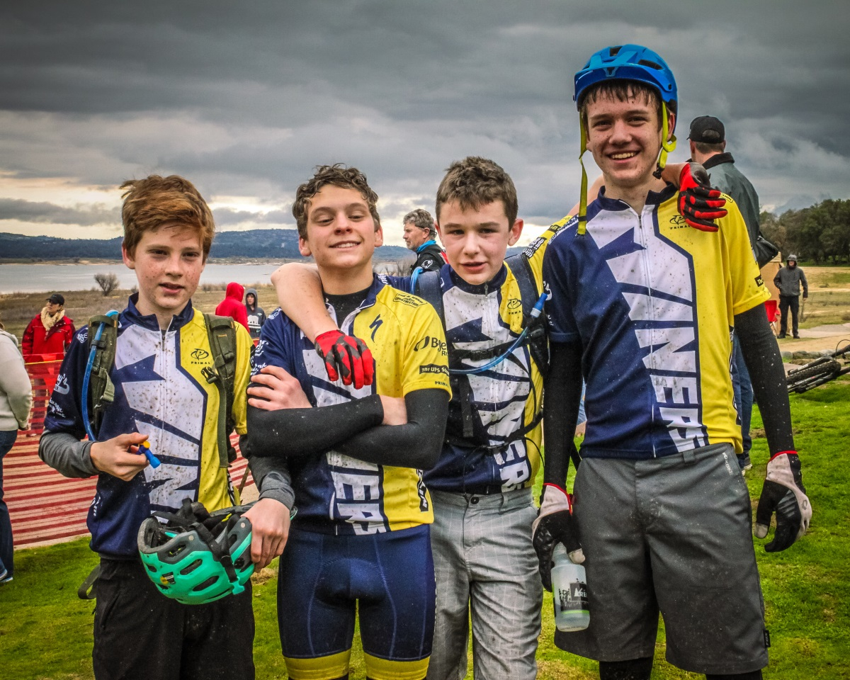 YBONC Supports Youth Cycling