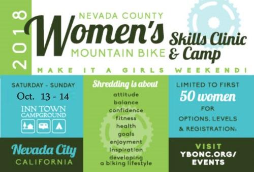 YBONC womens mountain bike clinic