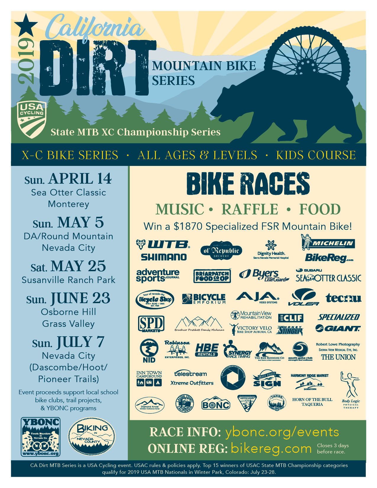 California Dirt Series